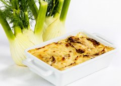 Fennel and Parmesan Gratin