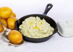 Herb Mashed Potatoes with Mascarpone