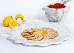Veal with Saffron and Lemon