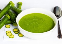 Zucchini and Mint Soup