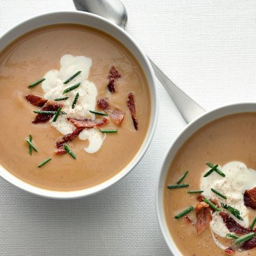 Chestnut and Parsnip Soup